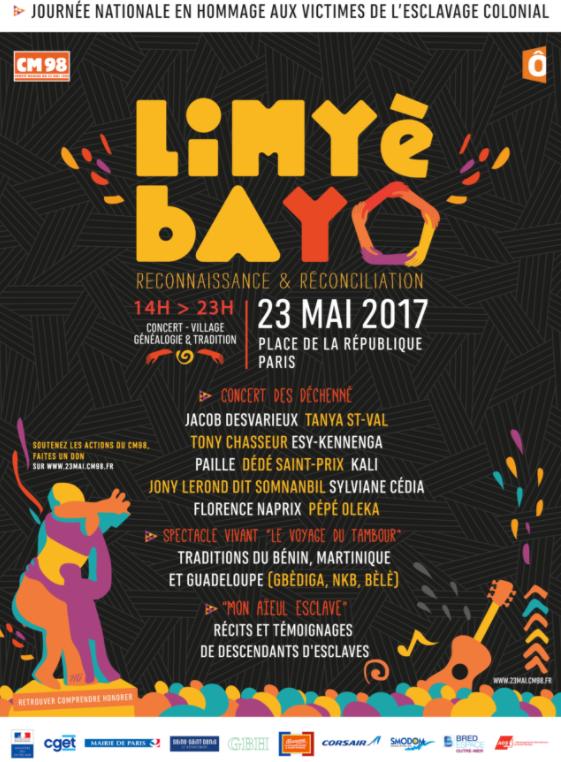 Affiche Limyè Bayo du 23 mai 2017