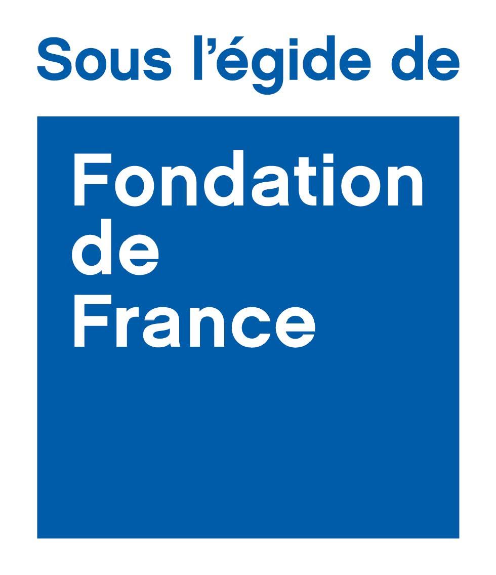 Logo Sous l'égide de la Fondation de France